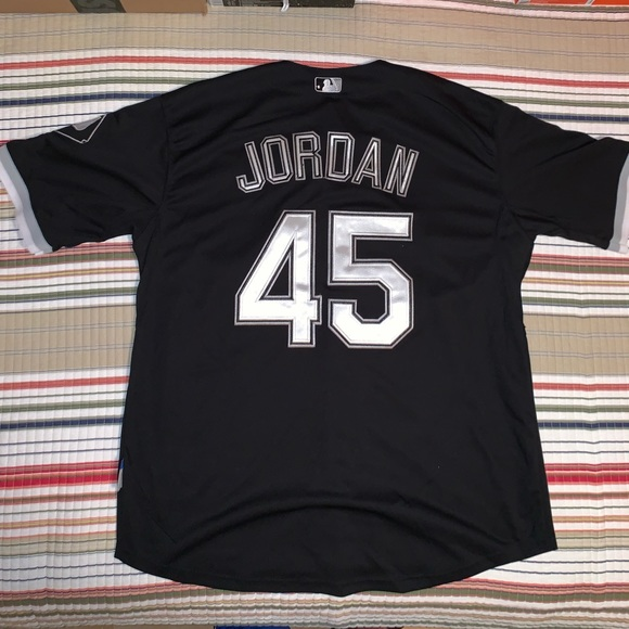reputable site 651f6 79800 Michael Jordan Chicago White Sox Jersey